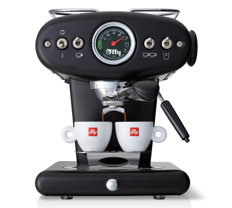 illy X1 Anniversary noire