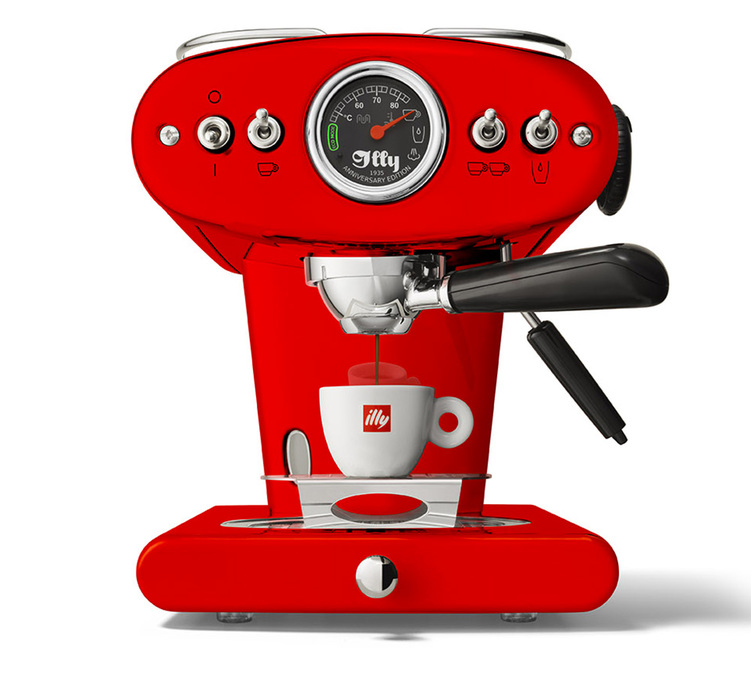 illy X1 Anniversary rouge