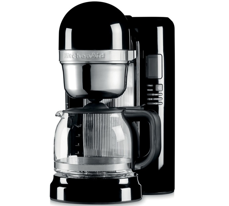 cafeti re filtre kitchenaid onyx 5kcm1204eob offre cadeaux. Black Bedroom Furniture Sets. Home Design Ideas