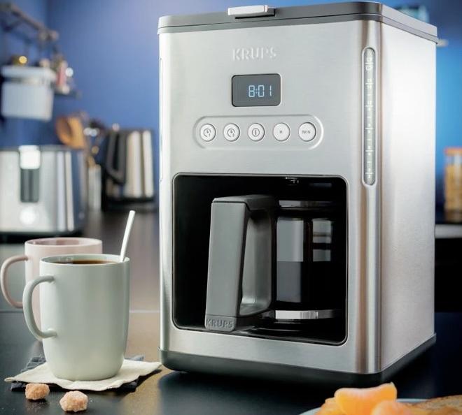 cafeti re filtre programmable krups control line km442d10. Black Bedroom Furniture Sets. Home Design Ideas