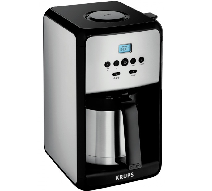 Cafeti re filtre isotherme programmable savoy et352010 krups - Cafetiere filtre programmable isotherme ...