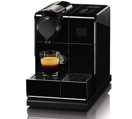 delonghi lattissima touch noir machine nespresso en550 b. Black Bedroom Furniture Sets. Home Design Ideas