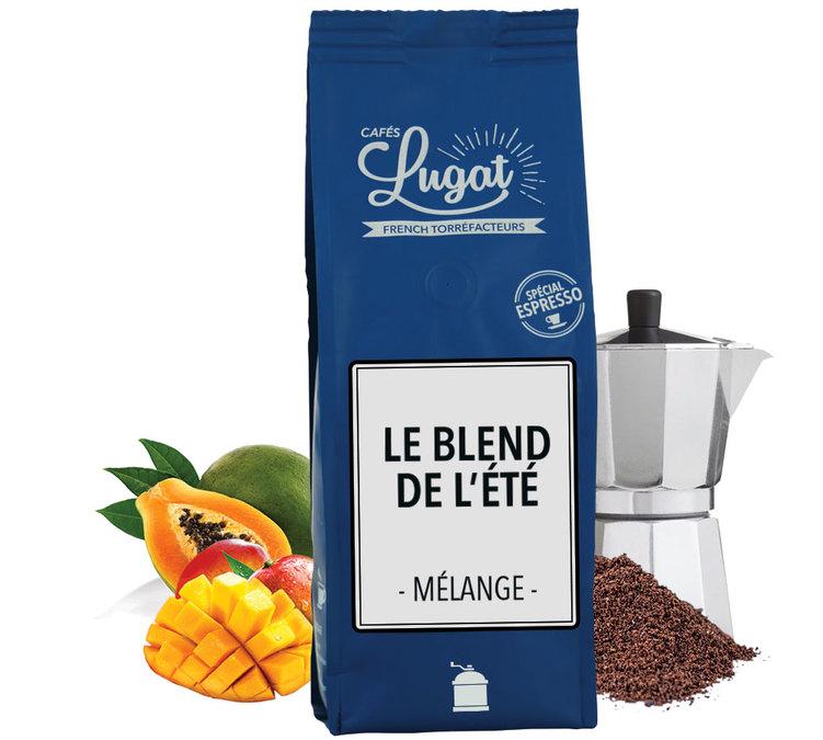 250g caf moulu blend de l 39 t pour cafeti re italienne - Quel cafe pour cafetiere italienne ...