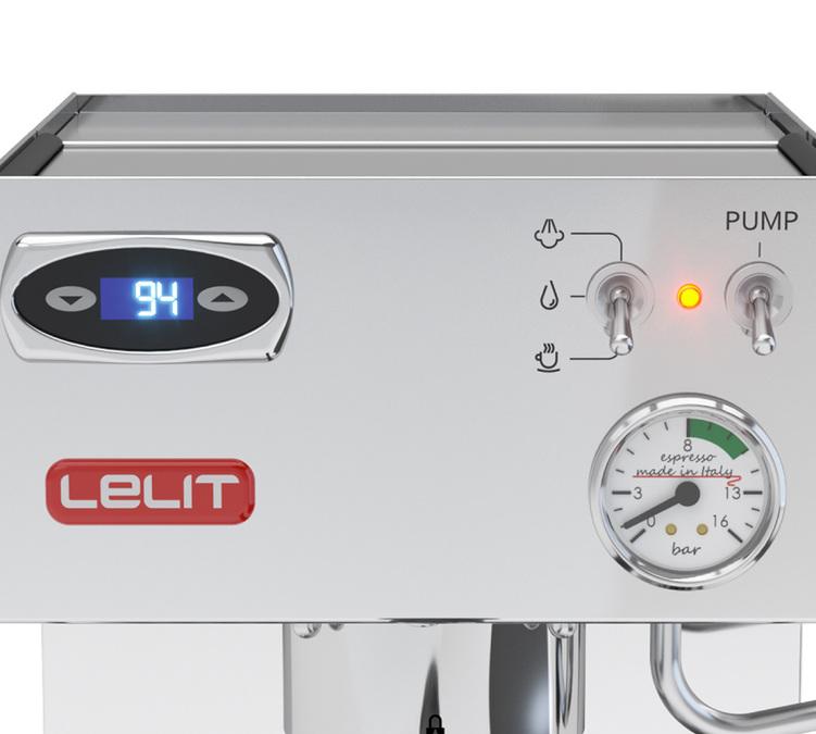 Machine expresso LELIT PL41TEM composant haut de gamme