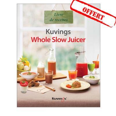 Qilive Slow Juicer Avis : Extracteur de jus Kuvings C9500 Premium blanc+livre recettes