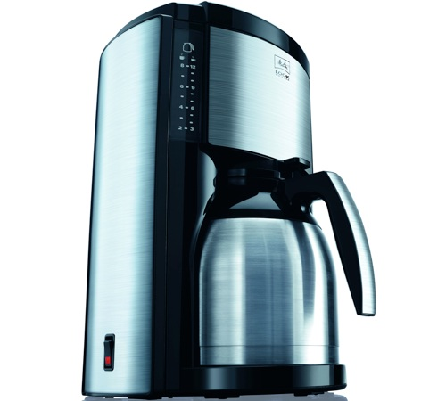 cafeti re filtre melitta look therm deluxe inox et noir. Black Bedroom Furniture Sets. Home Design Ideas
