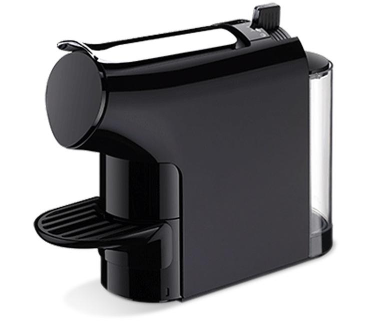 Machine à capsules Nespresso compatibles Noire- TIMER A