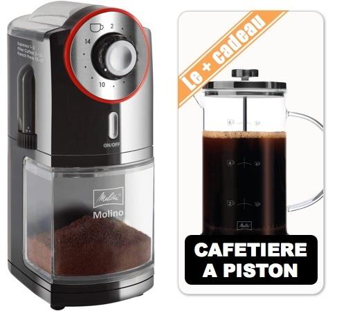 Moulin caf melitta molino cafeti re piston 8 tasses - Cafetiere a piston avis ...