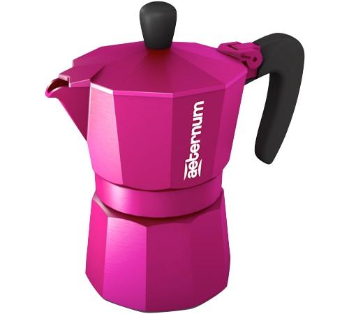 cafeti re italienne aeternum moka allegra purple 3 tasses. Black Bedroom Furniture Sets. Home Design Ideas