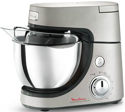 Moulinex Küchenmaschine Masterchef Gourmet Plus: Robot Patissier Moulinex Masterchef Gourmet Plus Silver