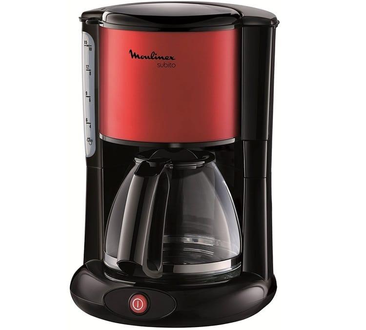 cafeti re filtre moulinex subito select fg370d11 rouge. Black Bedroom Furniture Sets. Home Design Ideas
