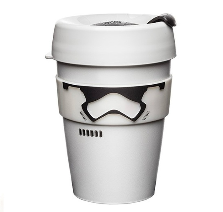 mug 39 stormtrooper 39 34 cl keep cup mug r utilisable. Black Bedroom Furniture Sets. Home Design Ideas
