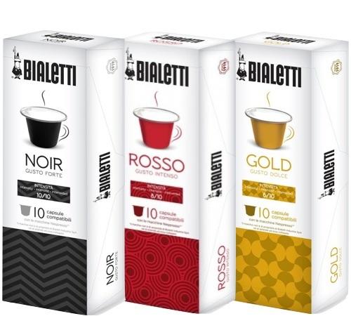 30 capsules compatibles nespresso Bialetti