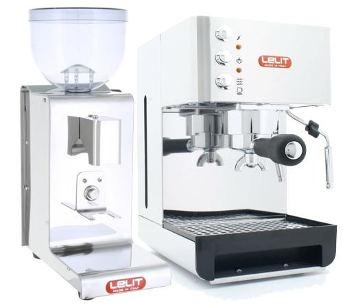 pack machine expresso moulin avec timer pl41e pl044mmt lelit. Black Bedroom Furniture Sets. Home Design Ideas