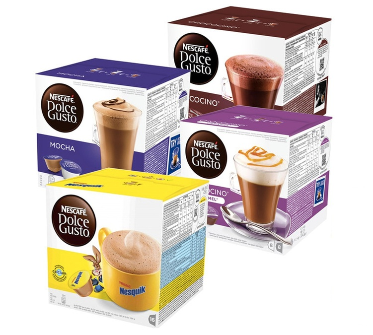 offre d couverte 64 capsules nescafe dolce gusto choco. Black Bedroom Furniture Sets. Home Design Ideas