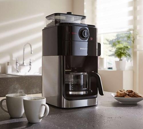 cafeti re filtre avec broyeur philips hd7765 00 offre cadeaux. Black Bedroom Furniture Sets. Home Design Ideas