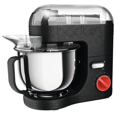 robot de cuisine lectrique bodum bistro 11381 01 noir 4 7l. Black Bedroom Furniture Sets. Home Design Ideas