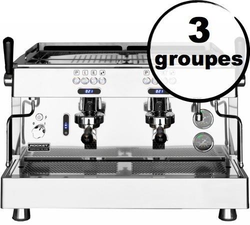 machine expresso pro rocket espresso re 8 3 groupes. Black Bedroom Furniture Sets. Home Design Ideas
