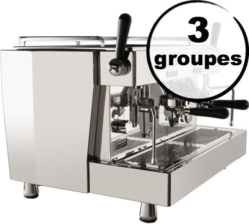 machine expresso pro rocket espresso re 8v 3 groupes. Black Bedroom Furniture Sets. Home Design Ideas