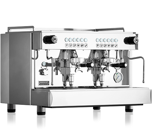 machine espresso pro rocket espresso re a 2 groupes. Black Bedroom Furniture Sets. Home Design Ideas