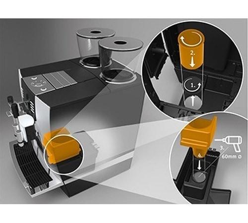 set d 39 jection caf pour machines jura giga x3 x7 x9. Black Bedroom Furniture Sets. Home Design Ideas