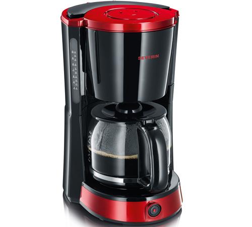cafeti re filtre severin select ka 4492 rouge cadeaux. Black Bedroom Furniture Sets. Home Design Ideas