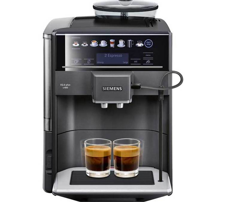 Siemens eq 6 s400 te654319rw expresso broyeur for Anthracite cafe