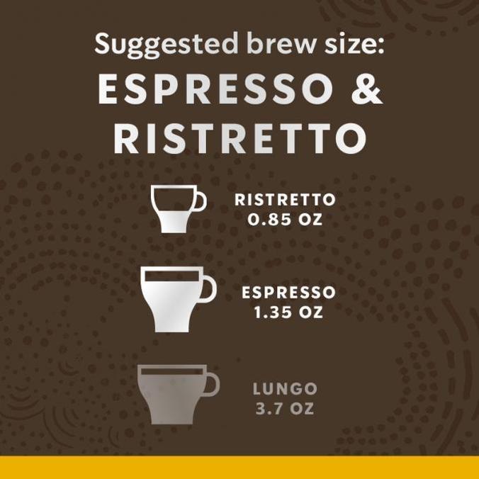 Starbucks Blonde Espresso Roast Capsules For Nespresso X 10