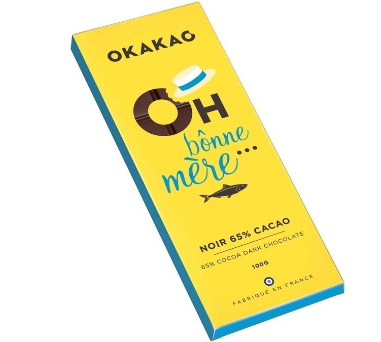 5x100g tablettes de chocolat noir okakao for 1 tablette de chocolat