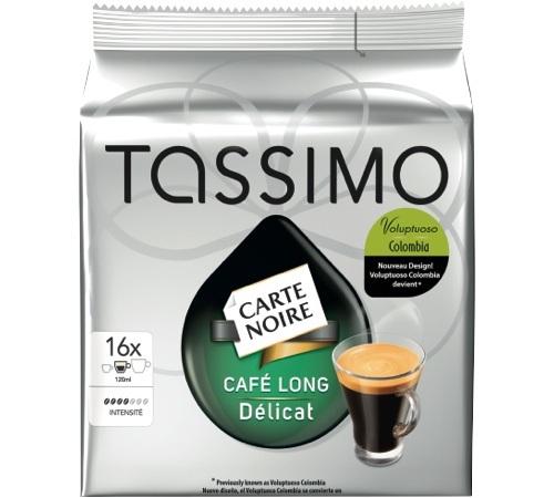 Tassimo Dosette Cafe Long Delicat