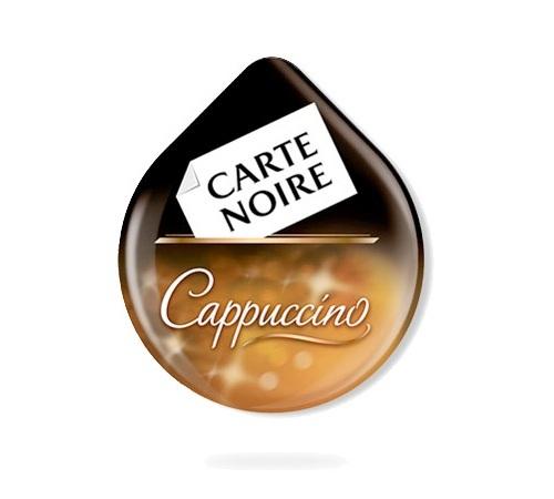 dosette tassimo carte noire cappuccino 8 t discs. Black Bedroom Furniture Sets. Home Design Ideas