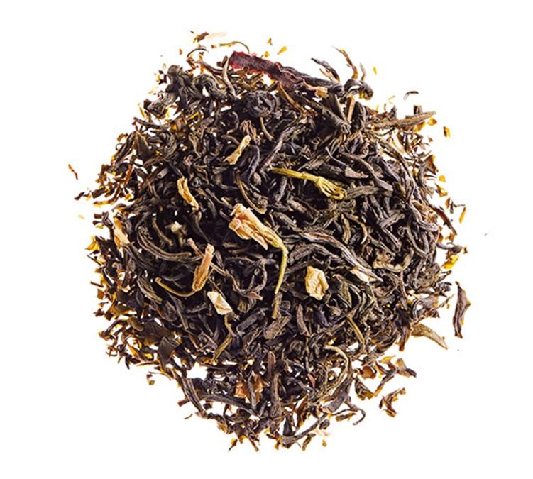 thé vert en vrac au jasmin et fleurs comptoir français du the
