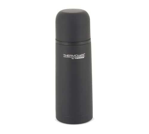Mini Thermos Café bouteille thermos thermocafé isotherme noir caoutchouc 35cl