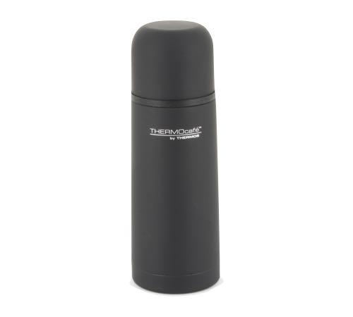 Bouteille thermos thermocaf isotherme noir caoutchouc 35cl - Thermos pour cafe ...