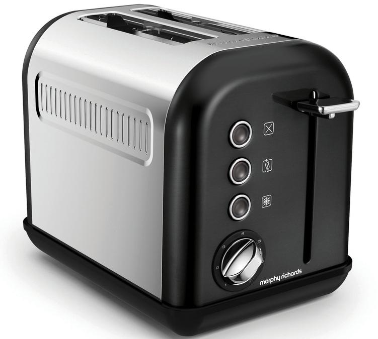 toaster morphy richards accents refresh noir m222010. Black Bedroom Furniture Sets. Home Design Ideas
