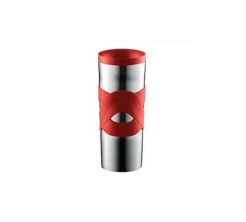 travel mug bodum inox rouge bodum 45 cl mod 2011. Black Bedroom Furniture Sets. Home Design Ideas