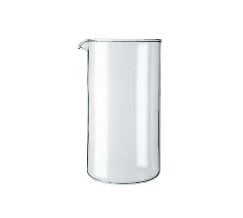 verre de rechange cafeti re piston bodum 8 tasses. Black Bedroom Furniture Sets. Home Design Ideas