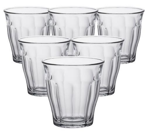 6 verres expresso duralex picardie 9cl - Verre picardie duralex ...