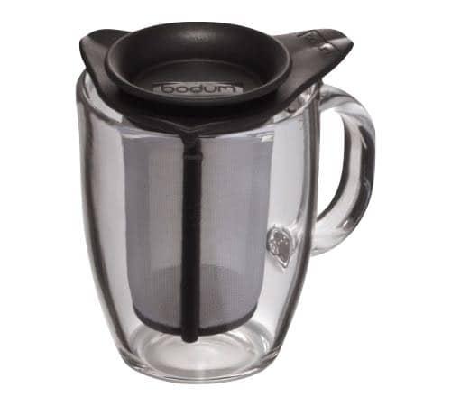 new yo yo set verre de bodum 0 35 l mug filtre en nylon. Black Bedroom Furniture Sets. Home Design Ideas