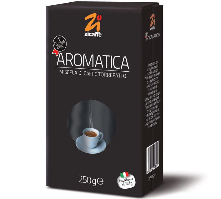 Zicaffè 'Aromatica' ground coffee - 250g