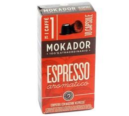 Capsules Aromatico Mokador x10 pour Nespresso