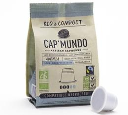 Capsules Bio & Compost Adenia x10 CapMundo pour Nespresso