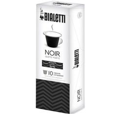 Capsules Forte (Noir) Bialetti x10 pour Nespresso