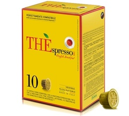 10 Capsules Thé English Breakfast compatibles Nespresso® - Caffè Vergnano
