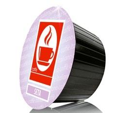 Capsules Dolce Gusto® compatibles Seta 100% Arabica x100
