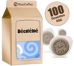 Dosette café Décaféiné x 100 dosettes ESE