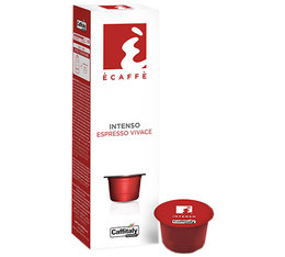 Caffitaly Capsules Intenso x 10 coffee pods