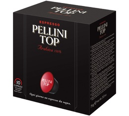 Pellini Top coffee capsules for Dolce Gusto x 10