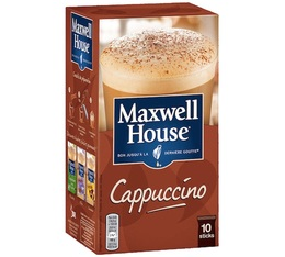 Maxwell House Cappuccino 10 sticks