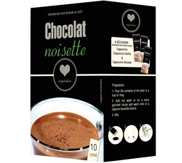 10 sticks Chocolat Noisette - Inspiration (Lavazza)